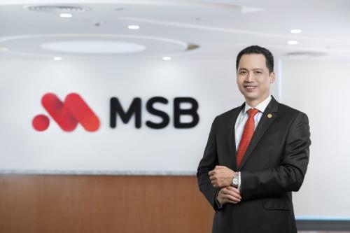 Ông Huỳnh Bứu Quang, Tổng giám đốc MSB.