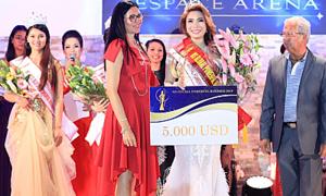 Dương Thị Kim Ngân đăng quang Hoa hậu Doanh nhân quyền năng thế giới 2019