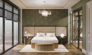 Thiết kế phòng ngủ Italy - điểm nhấn của Vinmus tại triển lãm Vietbuild