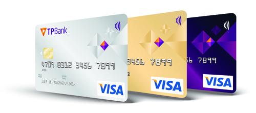 Sản phẩm thẻ của TP Bank.