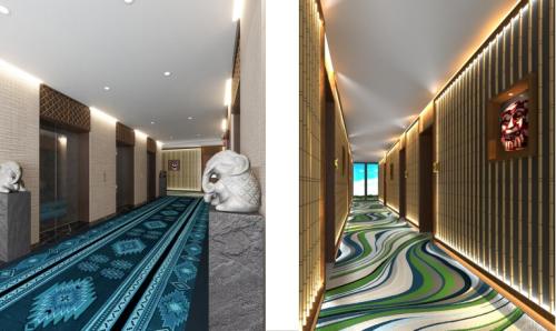 Mỗi tầng, mỗi phòng nghỉ đều đem lại cảm giác sống giữa buôn làng, giữa hàng trăm năm lịch sử của các dân tộc Tây Nguyên.