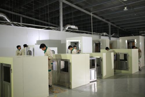 Intech Group sản xuất, lắp ráp thiết bị xử lý không khí và phòng sạch - 1