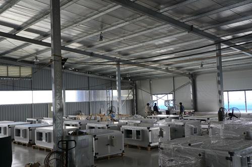 Intech Group sản xuất, lắp ráp thiết bị xử lý không khí và phòng sạch - 2