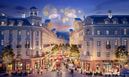Quảng trường và các khu mua sắm là trái tim của các thành phố du lịch nổi tiếng thế giới