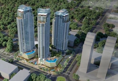 Dự án APEC Dubai Towernằmngay sát biển Ninh Chữ, thành phốPhan Rang