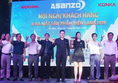 Asanzo đẩy mạnh triển khainhiều hội nghị khách hàng để giới thiệu những sản phẩm mới đến các đối tác tại thị trường tỉnh.