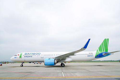 Bamboo Airways hiện có 10 máy bay. Ảnh: Xuân Hoa.