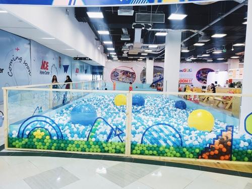 BigFun - khu vui chơi dành cho trẻ em vừa đi vào hoạt động vào ngày 1/6 vừa qua.