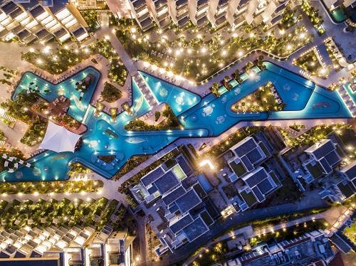 Một góc dự án Premier Village Phu Quoc Resort.