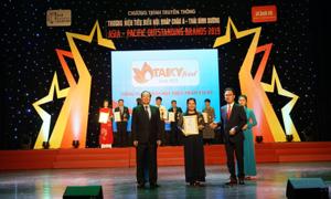 TakyFood nhận giải 'Top 10 thương hiệu tiêu biểu châu Á - Thái Bình Dương'