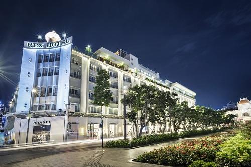 Khách sạn Rex Sài Gòn, 141 Nguyễn Huệ, quận 1, TP HCM.
