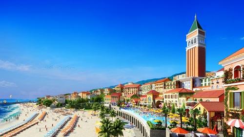 Những villa làng biển sang trọng, cùng các dãy phố shophouse sẽ là nơi lưu trú, mua sắm và giải trí hấp dẫn.