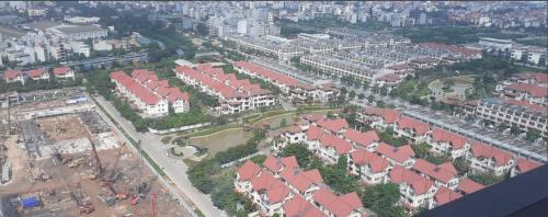 Hình chụp thực tế - hạ tầng hoàn chỉnh tại khu đô thị An Hưng