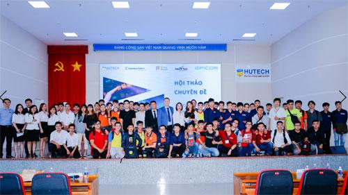 Chương trình thu hút 1.000 cán bộ, nhân viên và sinh viên HUTECH tham gia.