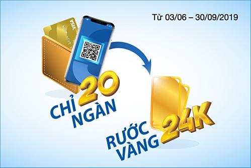 Chương trình khuyến mãidành cho chủthẻ Sacombank Visa và tài khoản Sacombank Pay.