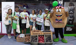Potato USA đồng hành cùng lễ hội sắc màu 'Color Me Run 2019'