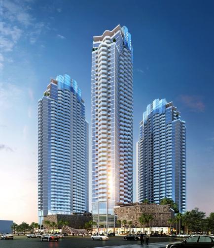 APEC Dubai Tower với 4.000 căn codotel 5 sao quốc tế giúp nâng tầm du lịch Ninh Thuận.