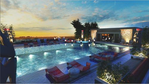 Bể bơi vô cực thu hút các tín đồ du lịch bởi thiết kế hiện đại, tầm nhìn đẹp mắt...