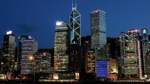 Các tòa nhà cao tầng tạiHong Kong (Trung Quốc). Ảnh: Reuters