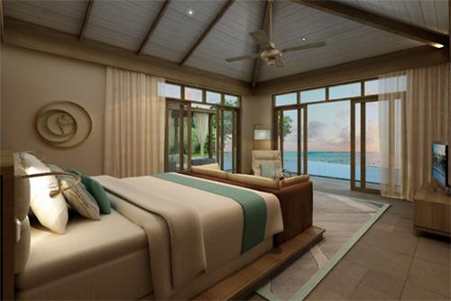Các căn biệt thự tại Fusion Resort & Villas Đà Nẵng sở hữu tầm nhìn hướng biển, tạo không gian nghỉ dưỡng gần gũi thiên nhiên nhưng vẫn đảm bảo sự riêng tư cho chủ nhân.