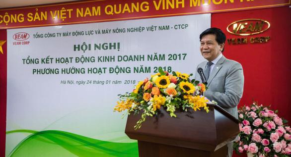 Ông Trần Ngọc Hà không còn là người đại diện vốn Nhà nước tại VEAM từ ngày 27/6.