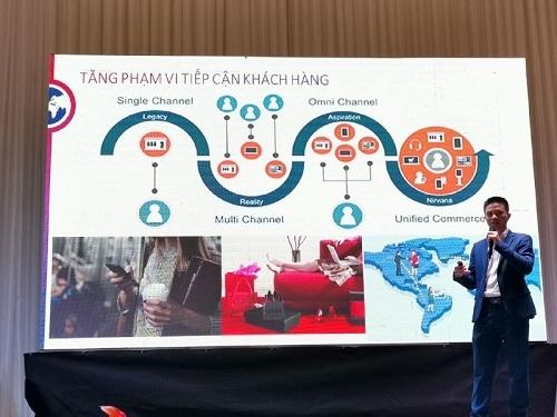 TTng Phạm Phạm Đạt, Tổng giám đốc Fado, đối tác củaAlibaba.com.