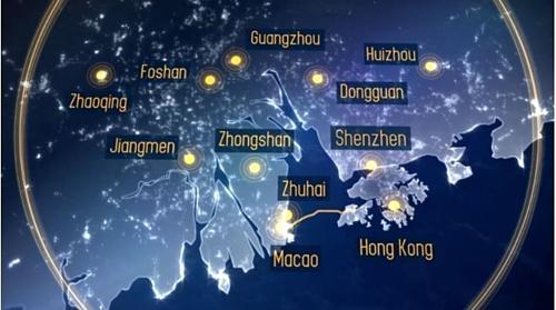 Khu vực Vịnh Lớn của Vùng châu thổ sông Châu Giang. Ảnh: WEF