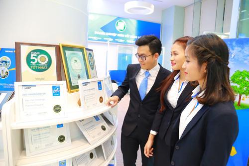 Bảo Việt đạt được nhiều kết quả kinh doanh khả quan trong những tháng đầu năm.