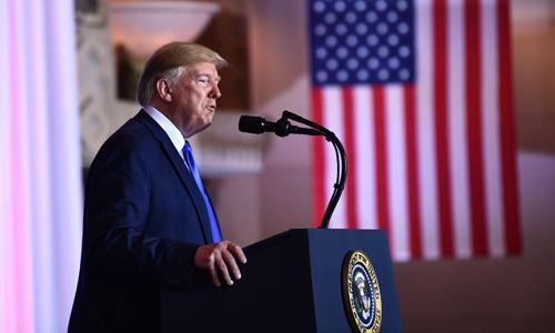 Ông Donald Trump tại cuộc họp báo bên lề hội nghị thượng đỉnh G20 ở Nhật Bản chiều 29/6. Ảnh: AFP