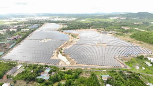 Nhà máy điện mặt trời trị Trúc Sơn giá 843 tỷ chính thức vận hành