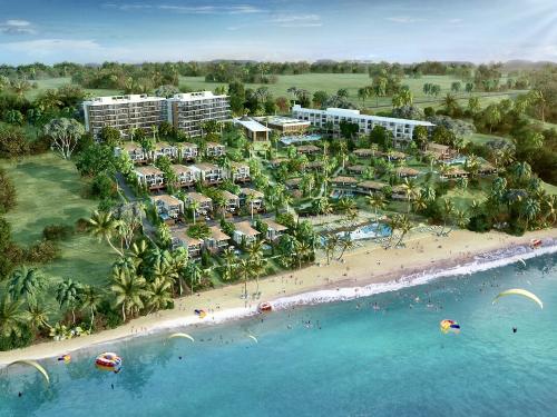 Edna Resort Mũi Né đang trong quá trình xây dựng, dự kiến sẽ bàn giao vào quý 2/2020.