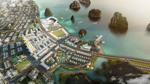 HD Mon sắp ra mắt dự án biệt thự bên bờ vịnh di sản