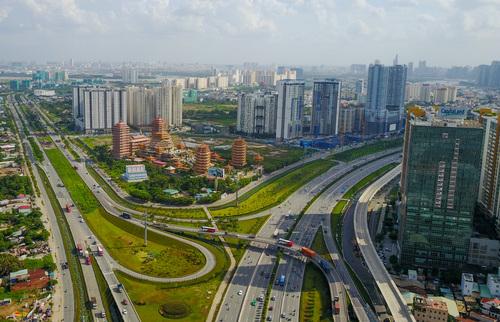Thị trường căn hộ phía Đông TP HCM. Ảnh: Trần Quỳnh