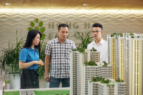 Hồng Hà Eco City nhận được sự quan tâm của đông đảo khách hàng