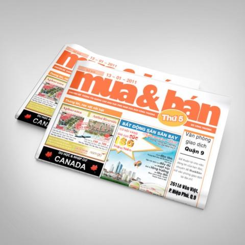 Trang báo Mua & Bán gắn liền với người dân.