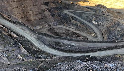 Khu vực khai thác của MP Materials tại Mountain Pass. Ảnh: CNN