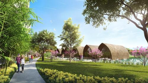Thiết kế xanh gần gũi thiên nhiên tại Vedana Resort.