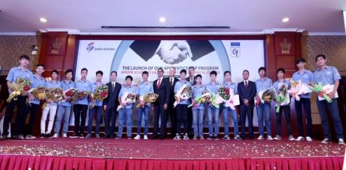 Ra mắt chương trình hợp tác đào tạo giữa Schindler Việt Nam với trường Cao đẳng Kỹ thuật Cao thắng (TP HCM).