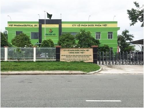 Nhà máy sản xuất Đông Dược Việt, đạt tiêu chuẩn GMP của WHO.