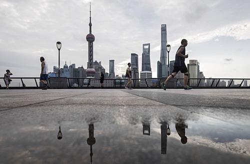 Quận tài chính Lujiazui tại Thượng Hải (Trung Quốc). Ảnh: Bloomberg