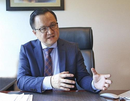Ông Nguyễn Vĩnh Trân - Tổng giám đốc MIKGroup.