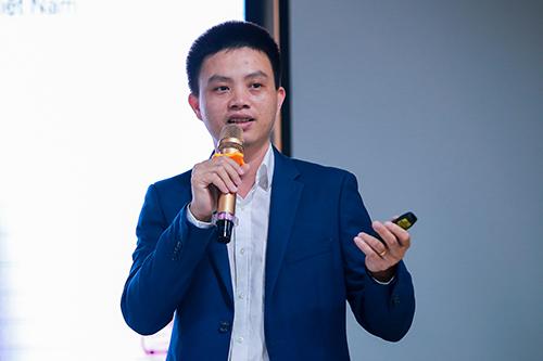 Ông Phạm Tấn Đạt, CEO Fado tại sự kiện. Ảnh: Anh Khoa