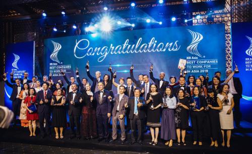 Tập đoàn IPPG nhận giải nơi làm việc tốt nhất châu Á