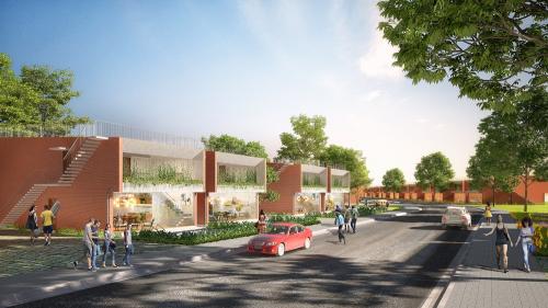 Dự án hưởng lợi hạ tầng giao thông thuận tiện.