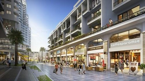 Hệ thống tiện ích đồng bộ, trong đó nổi bật là khu mua sắm giải trí của dự án.
