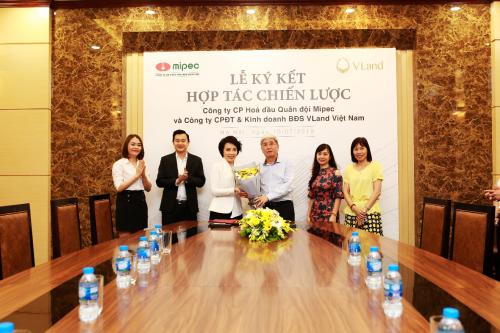 Lễ ký kết là tiền đề cho chuỗicác dự án bất động sản của Mipectrong thời gian tới