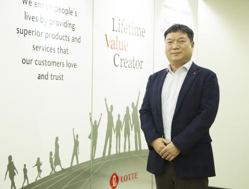 Ông Jun Sung Ho – Tổng Giám đốc Công ty Lotte E&C Việt Nam.