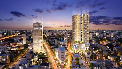 Hệ sinh thái đầu tư Alpha City với tháp văn phòng hiện đại Alpha Town hơn 10.000 nhân sự làm việc, tòa tháp đôi căn hộ cao cấp Alpha Hill cao 48 tầng và trung tâm thương mại thời thượng Alpha Mall.