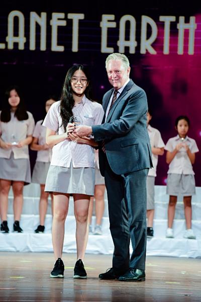 Academic Champion - phần thưởng vinh danh cho sự nỗ lực của học sinh tại SIS.