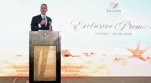 Ông Peter Meyer - Giám đốc điều hành Tập đoàn Lodgis, chủ đầu tư dự án Fusion Resort & Villas Đà Nẵng.